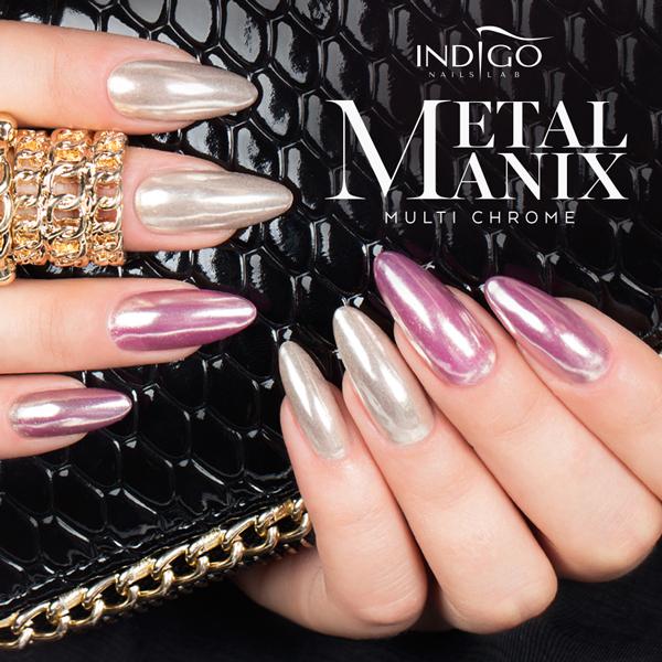 Set Mirror Nails - INDIGO